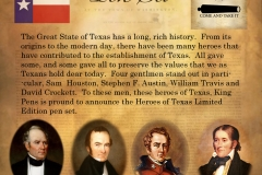 heroes of texas pen set ad