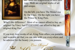 king pens art ad